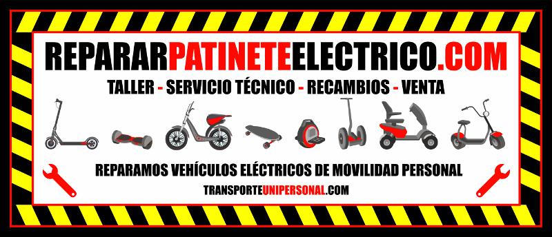 REPARAR PATIN ELÉCTRICO